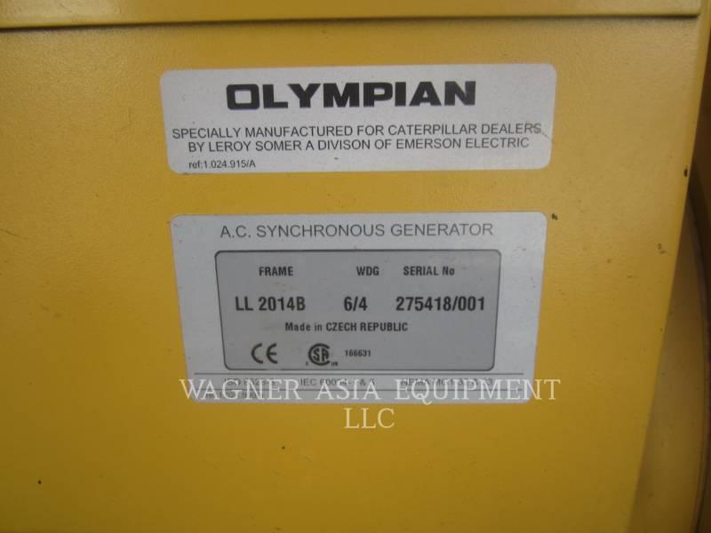 OLYMPIAN CAT STATIONARY GENERATOR SETS XQE30-2 equipment  photo 13