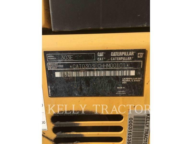 CATERPILLAR PELLES SUR CHAINES 303ECR equipment  photo 14