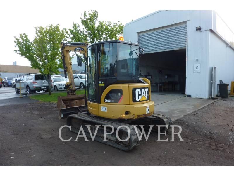 CATERPILLAR TRACK EXCAVATORS 305DCR equipment  photo 2