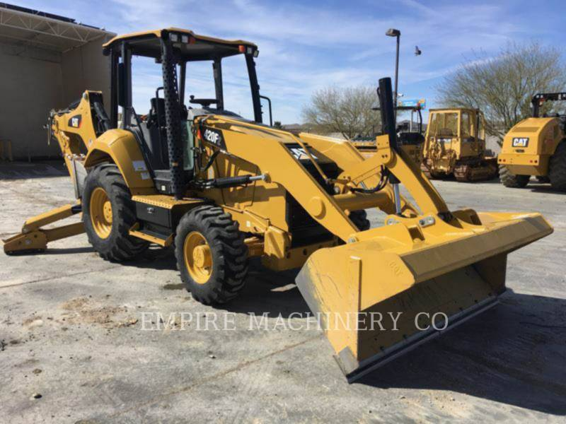 CATERPILLAR BACKHOE LOADERS 420F2 4EO equipment  photo 3