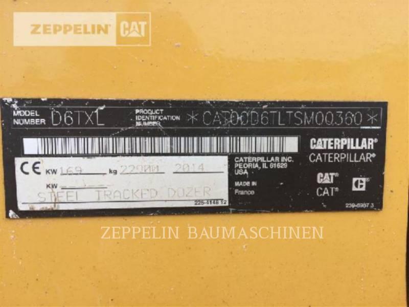 CATERPILLAR TRACK TYPE TRACTORS D6TXL equipment  photo 9