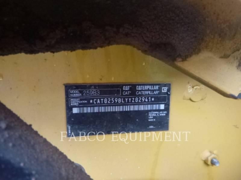 Caterpillar ÎNCĂRCĂTOARE PENTRU TEREN ACCIDENTAT 259B3 equipment  photo 6