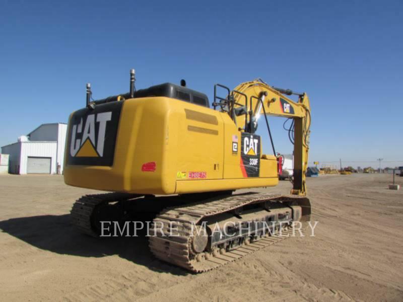 CATERPILLAR TRACK EXCAVATORS 330FL equipment  photo 2