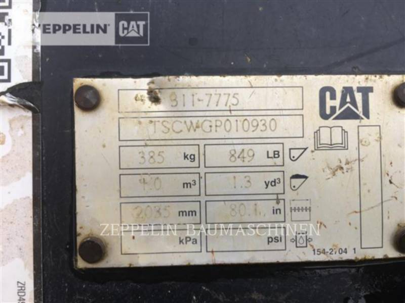 CATERPILLAR CARGADORES DE RUEDAS 907H equipment  photo 11