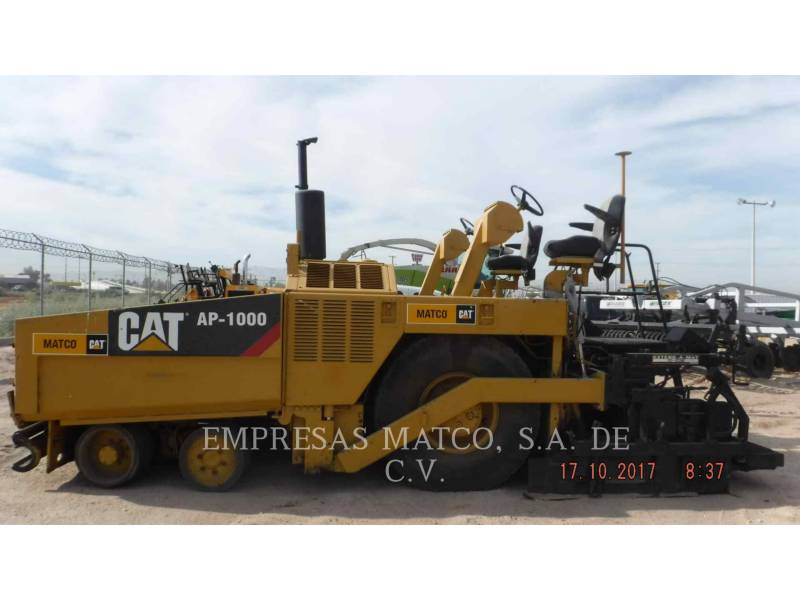 CATERPILLAR FINISSEURS AP-1000 equipment  photo 4
