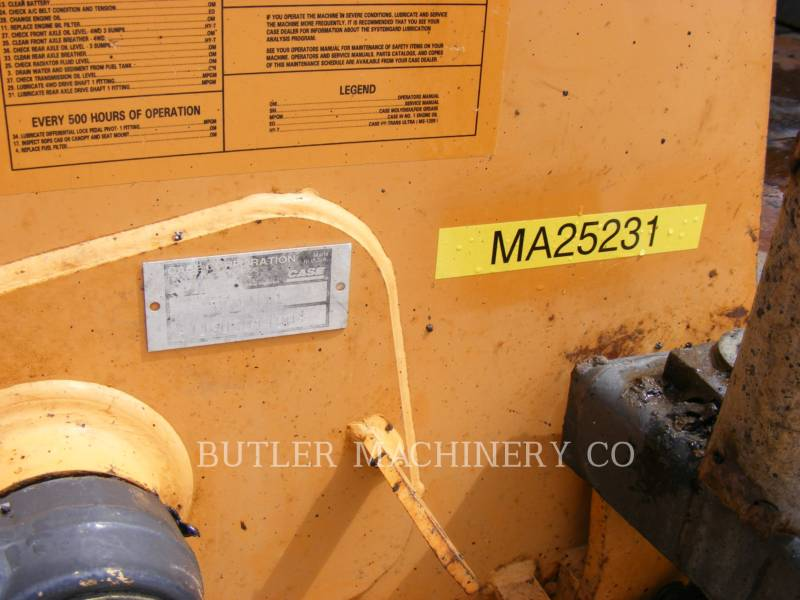 CASE/INTERNATIONAL HARVESTER INDUSTRIAL LOADER 570M XT equipment  photo 6