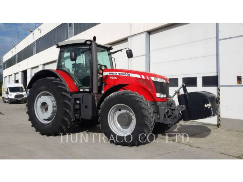 AGCO-MASSEY FERGUSON AG TRACTORS MF8680 equipment  photo 2