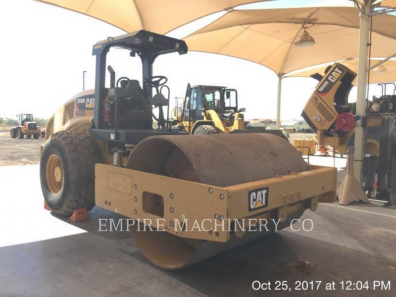 CATERPILLAR 振動シングル・ドラム・パッド CS56B equipment  photo 1