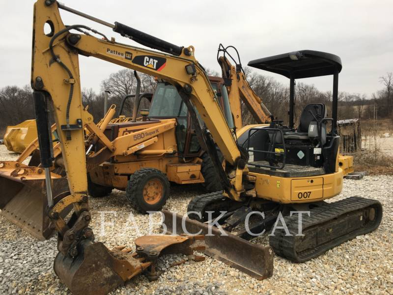 CATERPILLAR TRACK EXCAVATORS 304D equipment  photo 2