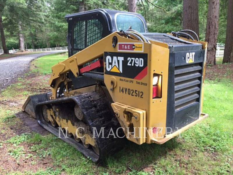 CATERPILLAR MINICARREGADEIRAS 279D H3CB equipment  photo 4