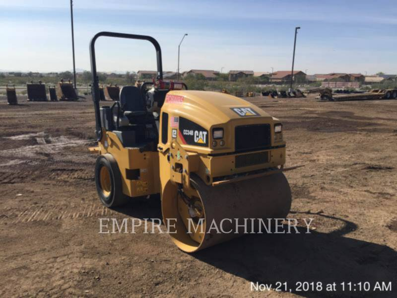 CATERPILLAR COMBINATION ROLLERS CC34B equipment  photo 1