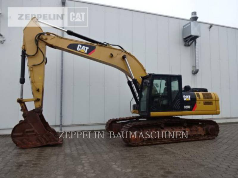 CATERPILLAR KETTEN-HYDRAULIKBAGGER 329DL equipment  photo 5