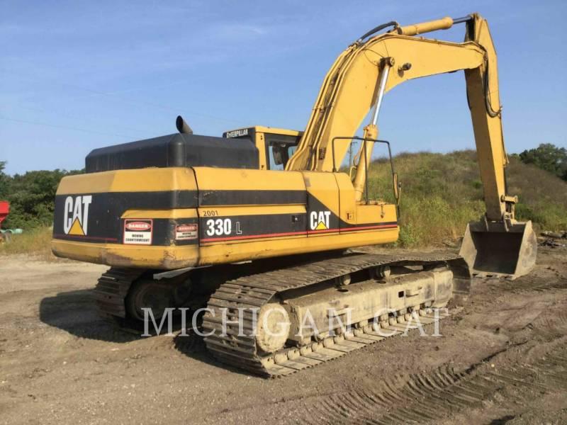 CATERPILLAR TRACK EXCAVATORS 330L equipment  photo 3