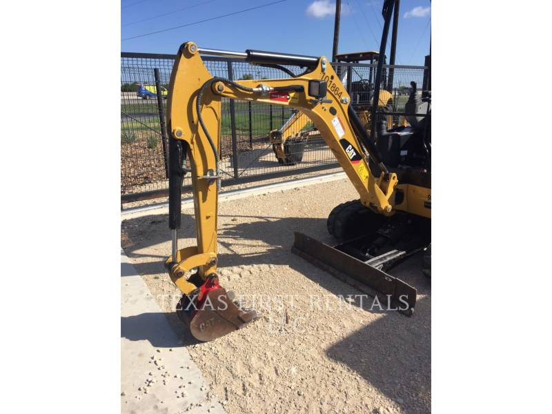 CATERPILLAR TRACK EXCAVATORS 301.7D CR equipment  photo 1