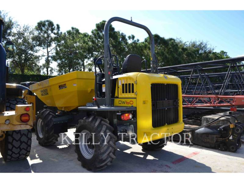WACKER CORPORATION UTILITY VEHICLES / CARTS DW60 equipment  photo 3