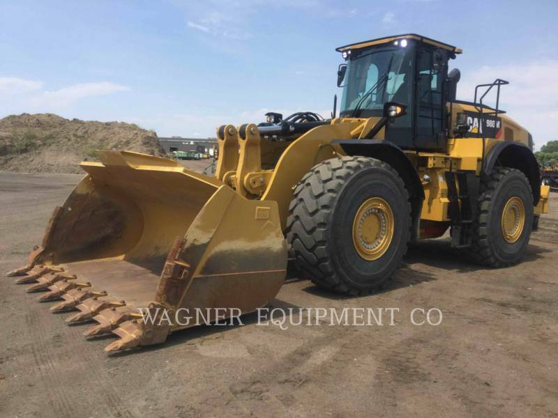 CATERPILLAR PALE GOMMATE/PALE GOMMATE MULTIUSO 980M AG equipment  photo 1