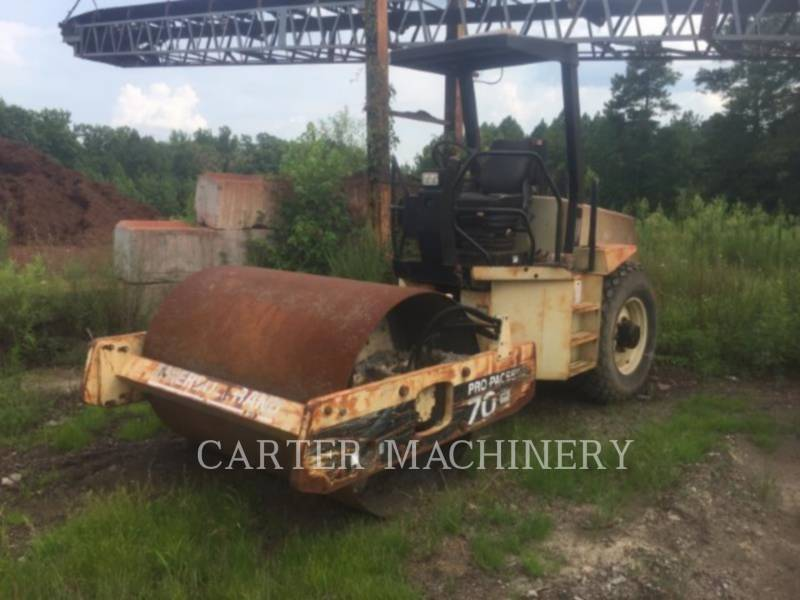 INGERSOLL-RAND COMPACTEURS IR SD70D equipment  photo 2