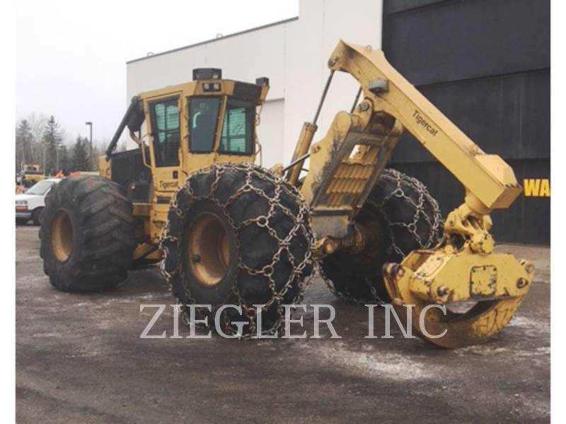 TIGERCAT SILVICULTURĂ – EXCAVATOR FORESTIER 610 C equipment  photo 2