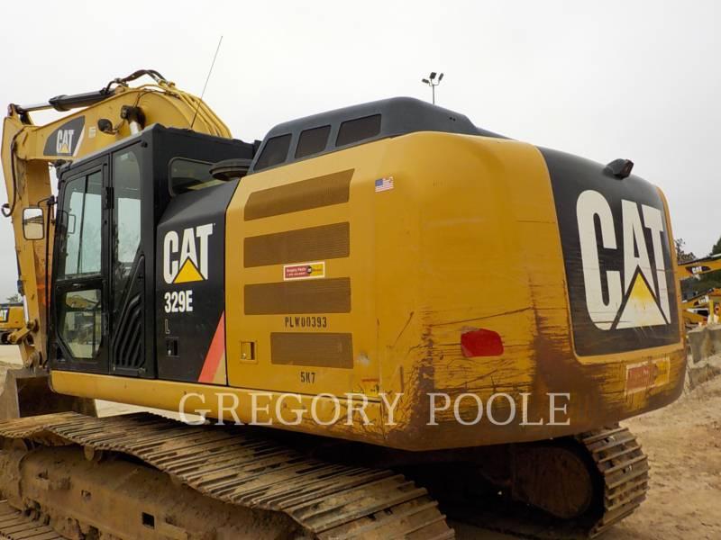 CATERPILLAR TRACK EXCAVATORS 329E L equipment  photo 8