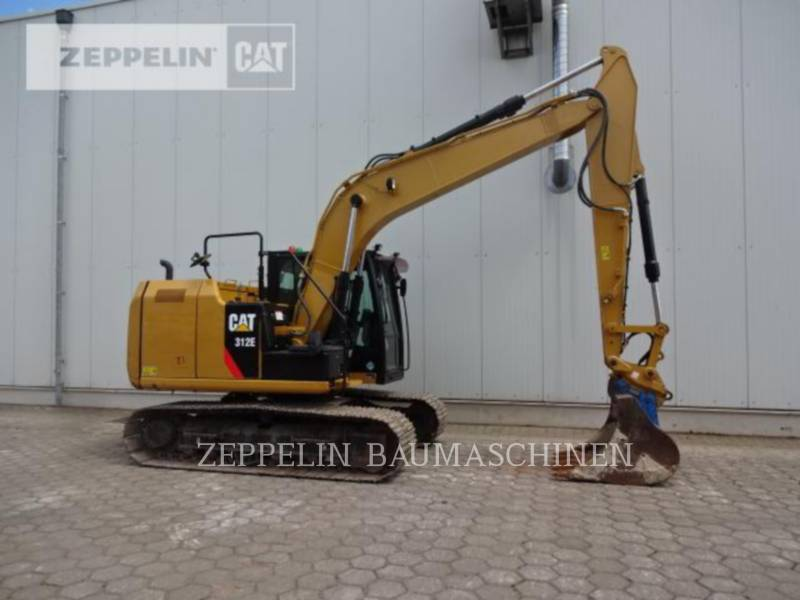 CATERPILLAR KETTEN-HYDRAULIKBAGGER 312E equipment  photo 8