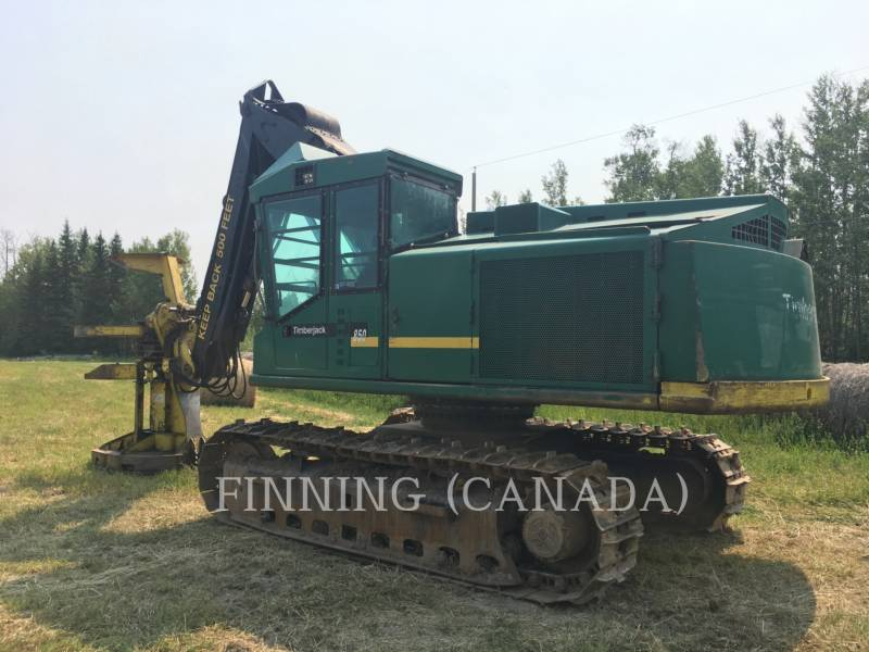 TIMBERJACK INC. FORESTRY - FELLER BUNCHERS - TRACK 850 equipment  photo 4