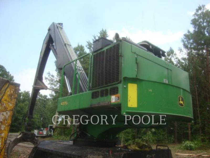JOHN DEERE FORESTRY - LOG LOADERS 437D equipment  photo 3