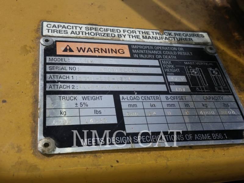 CATERPILLAR LIFT TRUCKS CHARIOTS À FOURCHE DP40KL1_MC equipment  photo 5