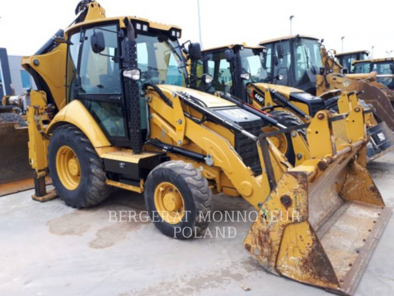 CATERPILLAR CHARGEUSES-PELLETEUSES 428F equipment  photo 3