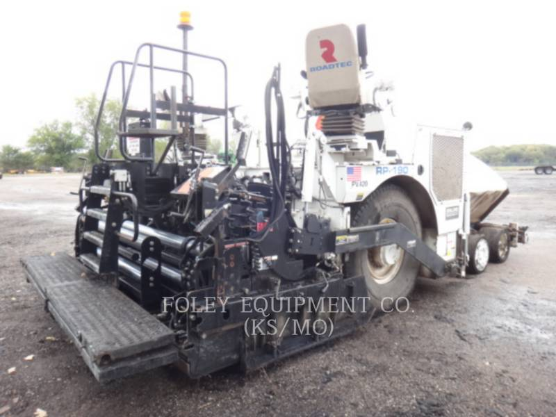 ROADTEC SCHWARZDECKENFERTIGER RP-190 equipment  photo 3