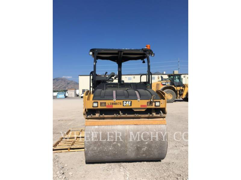 CATERPILLAR TANDEMOWY WALEC WIBRACYJNY DO ASFALTU (STAL-STAL) CB54B AMAP equipment  photo 3