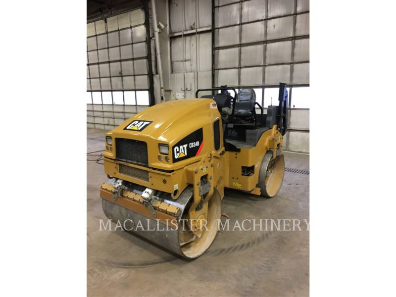 CATERPILLAR TANDEMVIBRATIONSWALZE, ASPHALT CB34B equipment  photo 1