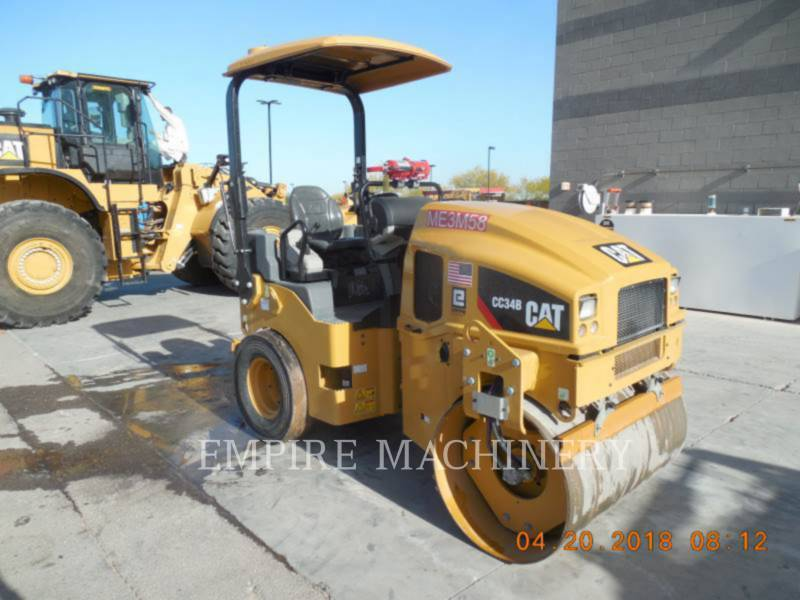 CATERPILLAR UNIVERSALWALZEN CC34B equipment  photo 1