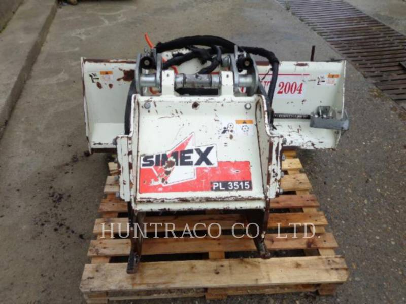 SIMPLEX INC WT – KALTFRÄSE SIMEX PL35.15 equipment  photo 1