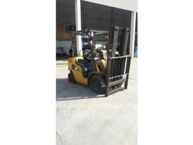 MITSUBISHI CATERPILLAR FORKLIFT FORKLIFTS 2P5000GLP equipment  photo 3