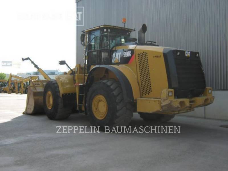 CATERPILLAR RADLADER/INDUSTRIE-RADLADER 980K equipment  photo 3