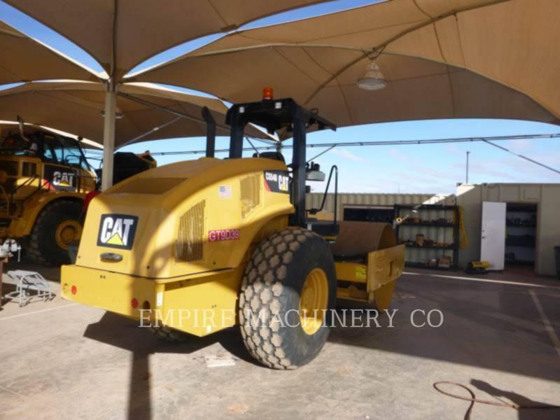 CATERPILLAR VIBRATORY SINGLE DRUM PAD CS54B equipment  photo 2