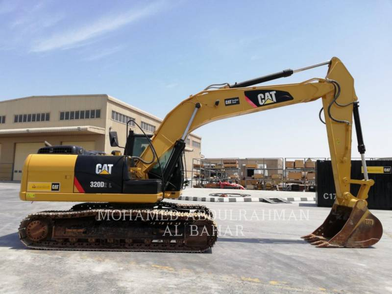 CATERPILLAR KETTEN-HYDRAULIKBAGGER 320 D L2 REACH equipment  photo 6
