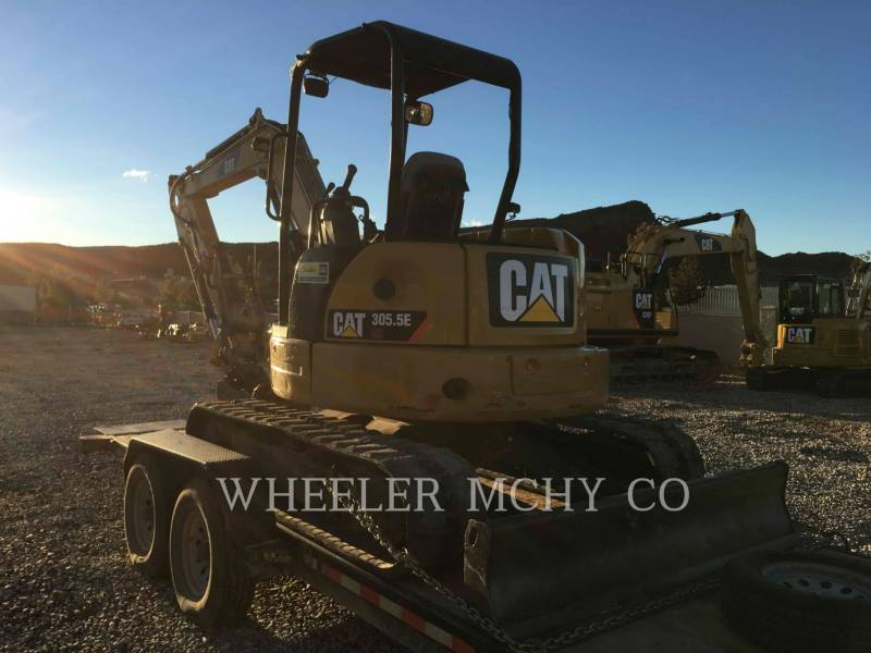 CATERPILLAR KETTEN-HYDRAULIKBAGGER 305.5EC1TH equipment  photo 4