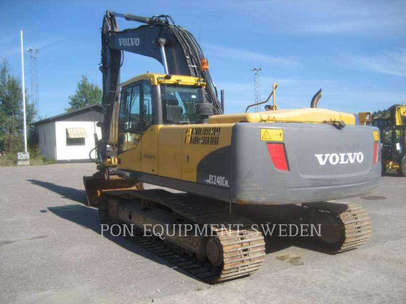 VOLVO CONSTRUCTION EQUIP BRASIL ESCAVATORI CINGOLATI EC240 CNL equipment  photo 4