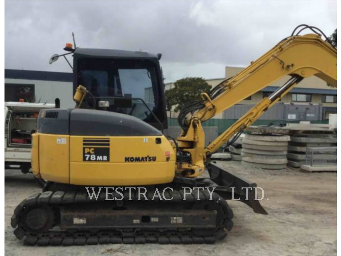 Used machinery cat used used equipment for sale westrac komatsu pc78mr 6 fandeluxe Images