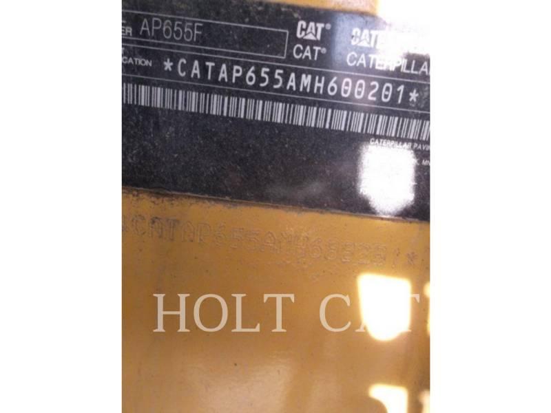 CATERPILLAR ASFALTATRICI AP655F equipment  photo 6