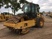 Equipment photo CATERPILLAR CS56 VIBRATORY SINGLE DRUM SMOOTH 1
