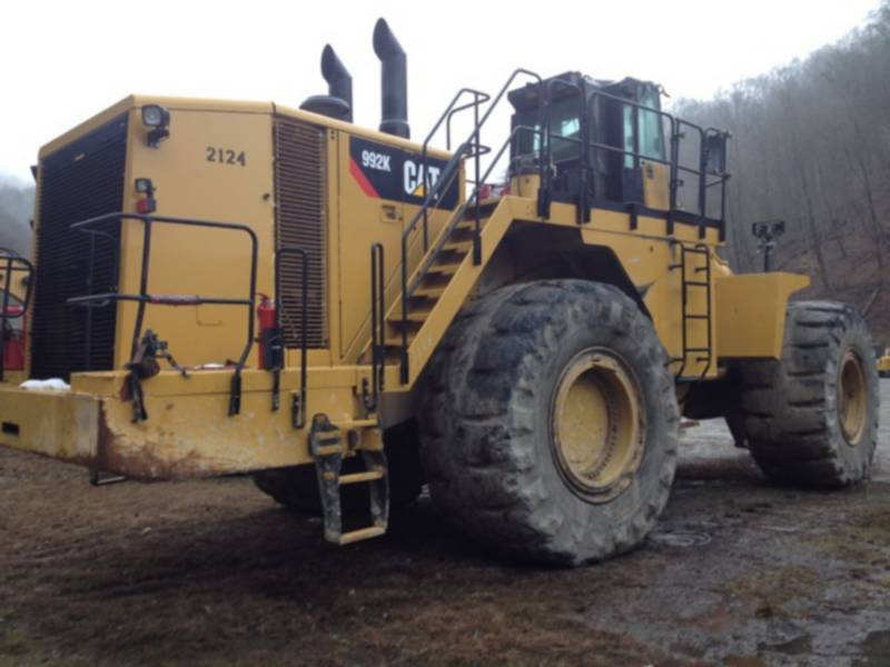 CATERPILLAR WHEEL LOADERS/INTEGRATED TOOLCARRIERS 992K equipment  photo 1