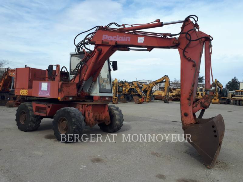 POCLAIN WHEEL EXCAVATORS P61 equipment  photo 4