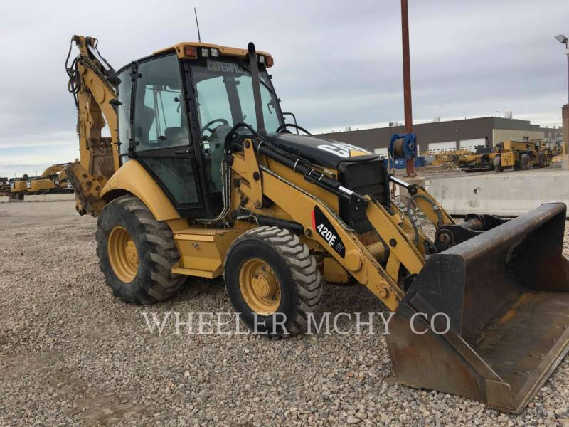 CATERPILLAR BAGGERLADER 420E ITECF equipment  photo 1