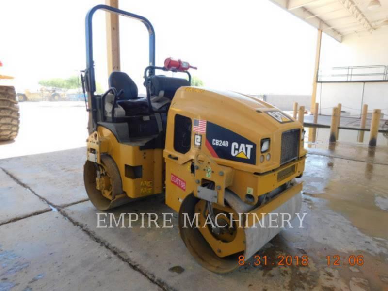 CATERPILLAR COMPATTATORE PER ASFALTO A DOPPIO TAMBURO VIBRANTE CB24B equipment  photo 1