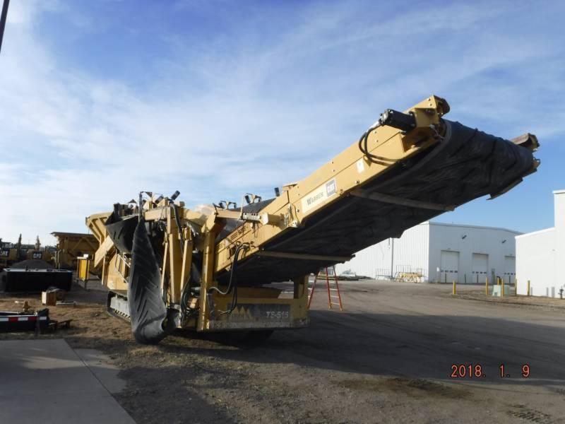 IROCK CRUSHERS SIEBE TS516 equipment  photo 3