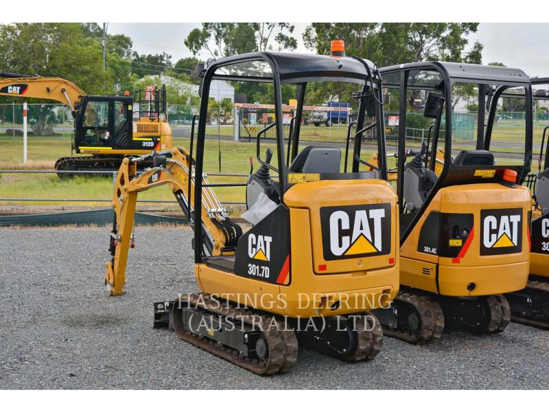 CATERPILLAR TRACK EXCAVATORS 301.7D equipment  photo 7