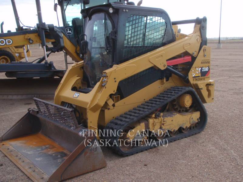 CATERPILLAR CARGADORES MULTITERRENO 259D LRC equipment  photo 1