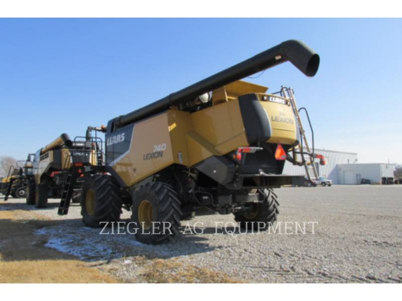 LEXION COMBINE COMBINES 740 equipment  photo 11